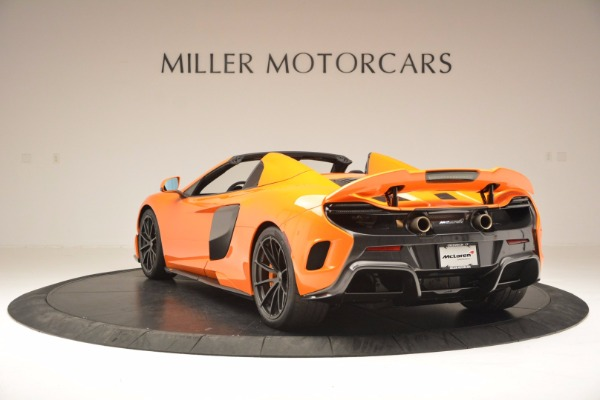 Used 2016 McLaren 675LT Spider Convertible for sale Sold at Rolls-Royce Motor Cars Greenwich in Greenwich CT 06830 5