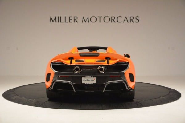 Used 2016 McLaren 675LT Spider Convertible for sale Sold at Rolls-Royce Motor Cars Greenwich in Greenwich CT 06830 6