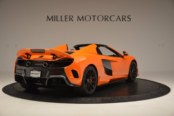 Used 2016 McLaren 675LT Spider Convertible for sale Sold at Rolls-Royce Motor Cars Greenwich in Greenwich CT 06830 7