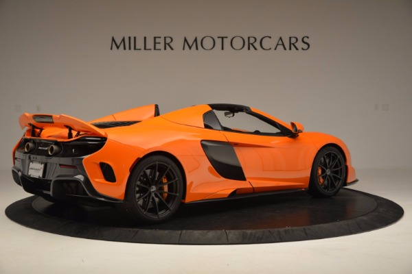 Used 2016 McLaren 675LT Spider Convertible for sale Sold at Rolls-Royce Motor Cars Greenwich in Greenwich CT 06830 8