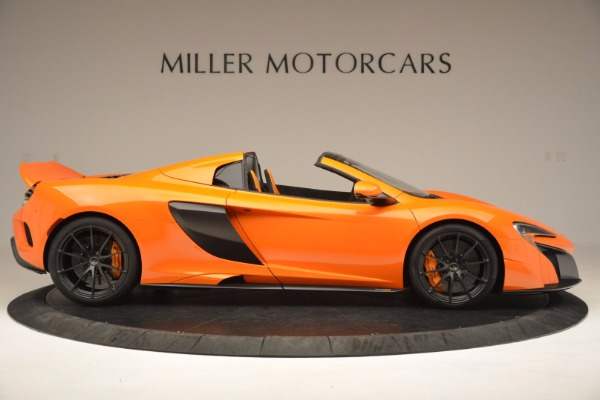 Used 2016 McLaren 675LT Spider Convertible for sale Sold at Rolls-Royce Motor Cars Greenwich in Greenwich CT 06830 9
