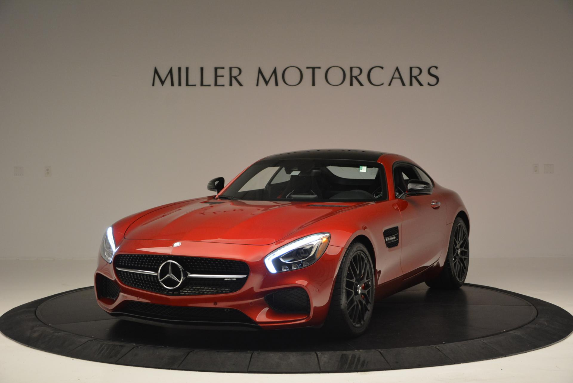 Used 2016 Mercedes Benz AMG GT S S for sale Sold at Rolls-Royce Motor Cars Greenwich in Greenwich CT 06830 1