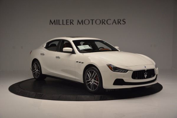 Used 2017 Maserati Ghibli S Q4 Ex-Loaner for sale Sold at Rolls-Royce Motor Cars Greenwich in Greenwich CT 06830 11