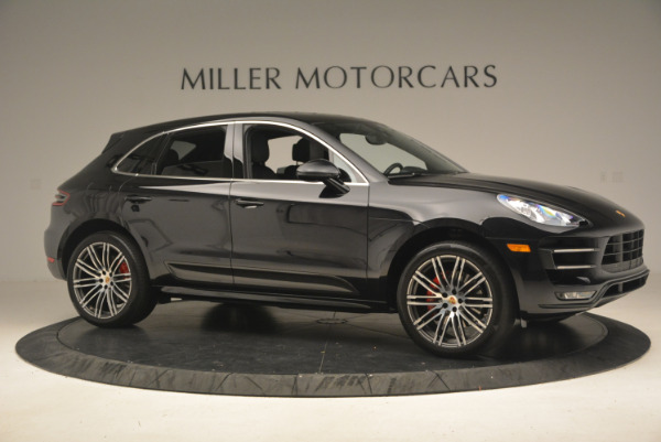 Used 2016 Porsche Macan Turbo for sale Sold at Rolls-Royce Motor Cars Greenwich in Greenwich CT 06830 10