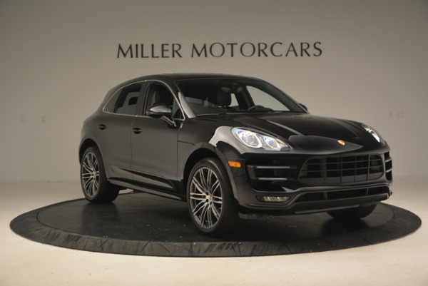 Used 2016 Porsche Macan Turbo for sale Sold at Rolls-Royce Motor Cars Greenwich in Greenwich CT 06830 11