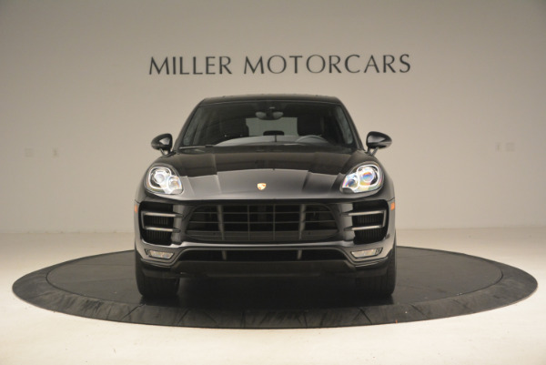 Used 2016 Porsche Macan Turbo for sale Sold at Rolls-Royce Motor Cars Greenwich in Greenwich CT 06830 12