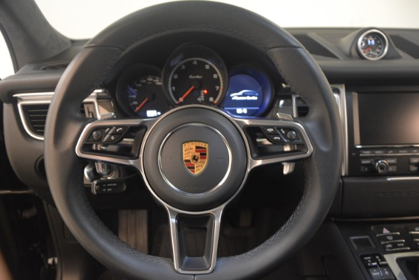 Used 2016 Porsche Macan Turbo for sale Sold at Rolls-Royce Motor Cars Greenwich in Greenwich CT 06830 18