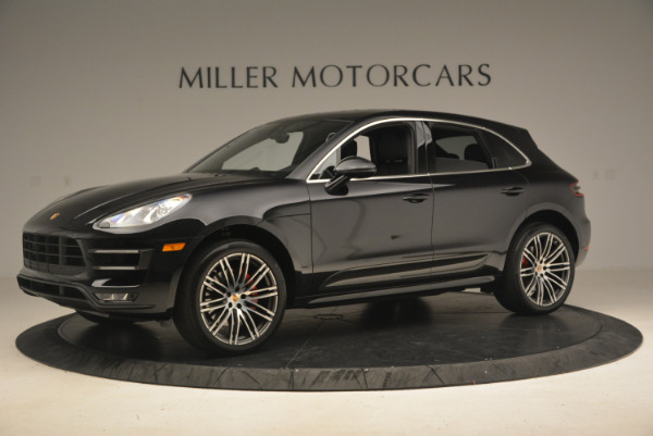 Used 2016 Porsche Macan Turbo for sale Sold at Rolls-Royce Motor Cars Greenwich in Greenwich CT 06830 2