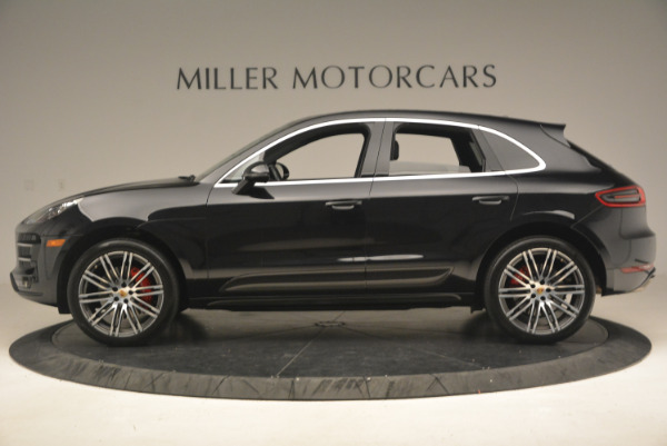 Used 2016 Porsche Macan Turbo for sale Sold at Rolls-Royce Motor Cars Greenwich in Greenwich CT 06830 3