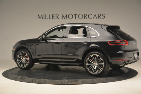 Used 2016 Porsche Macan Turbo for sale Sold at Rolls-Royce Motor Cars Greenwich in Greenwich CT 06830 4