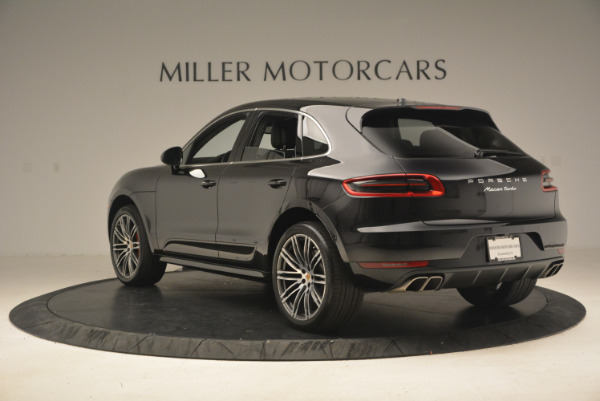 Used 2016 Porsche Macan Turbo for sale Sold at Rolls-Royce Motor Cars Greenwich in Greenwich CT 06830 5