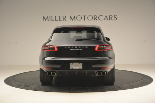 Used 2016 Porsche Macan Turbo for sale Sold at Rolls-Royce Motor Cars Greenwich in Greenwich CT 06830 6