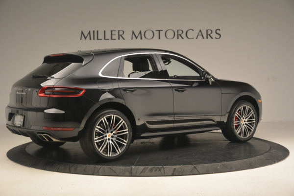 Used 2016 Porsche Macan Turbo for sale Sold at Rolls-Royce Motor Cars Greenwich in Greenwich CT 06830 8