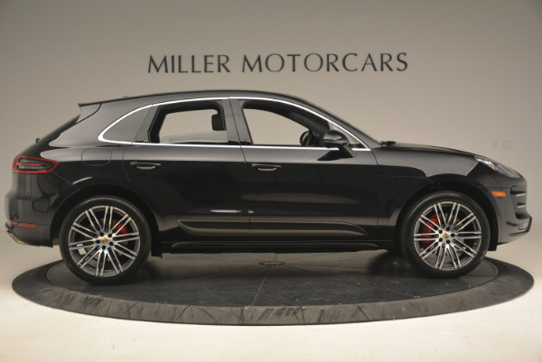 Used 2016 Porsche Macan Turbo for sale Sold at Rolls-Royce Motor Cars Greenwich in Greenwich CT 06830 9