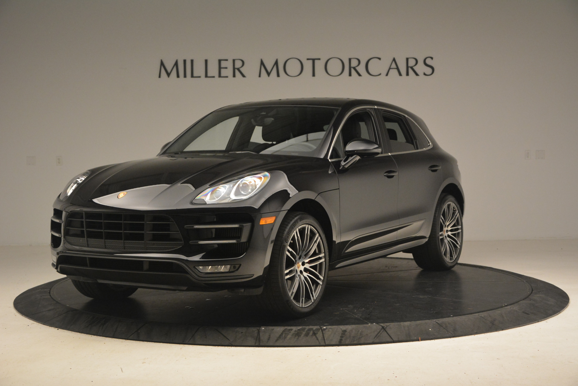 Used 2016 Porsche Macan Turbo for sale Sold at Rolls-Royce Motor Cars Greenwich in Greenwich CT 06830 1