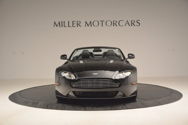 Used 2012 Aston Martin V8 Vantage S Roadster for sale Sold at Rolls-Royce Motor Cars Greenwich in Greenwich CT 06830 12