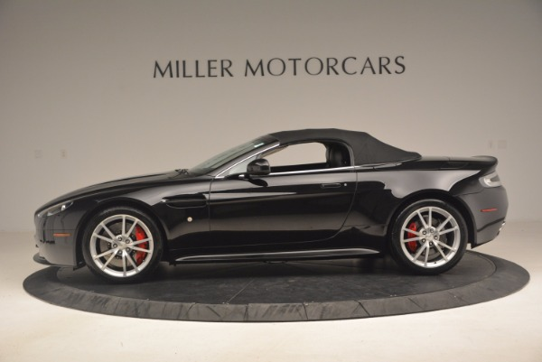 Used 2012 Aston Martin V8 Vantage S Roadster for sale Sold at Rolls-Royce Motor Cars Greenwich in Greenwich CT 06830 15