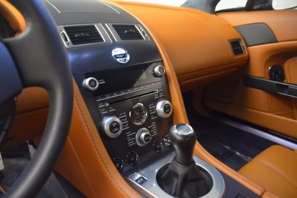 Used 2009 Aston Martin V8 Vantage for sale Sold at Rolls-Royce Motor Cars Greenwich in Greenwich CT 06830 17