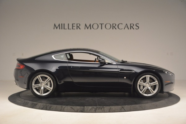 Used 2009 Aston Martin V8 Vantage for sale Sold at Rolls-Royce Motor Cars Greenwich in Greenwich CT 06830 9