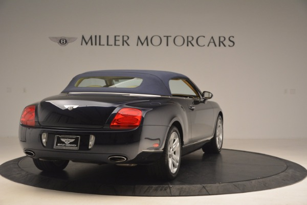 Used 2007 Bentley Continental GTC for sale Sold at Rolls-Royce Motor Cars Greenwich in Greenwich CT 06830 21