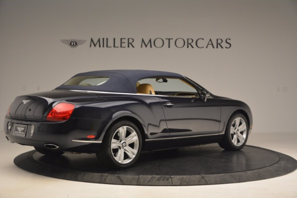Used 2007 Bentley Continental GTC for sale Sold at Rolls-Royce Motor Cars Greenwich in Greenwich CT 06830 22