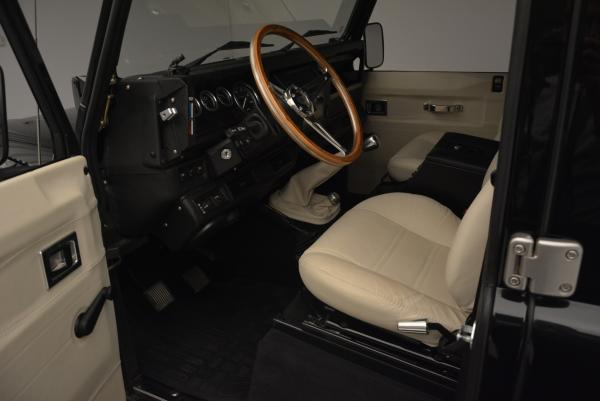 Used 1985 LAND ROVER Defender 110 for sale Sold at Rolls-Royce Motor Cars Greenwich in Greenwich CT 06830 12