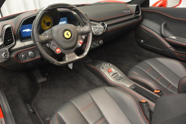 Used 2014 Ferrari 458 Spider for sale Sold at Rolls-Royce Motor Cars Greenwich in Greenwich CT 06830 25