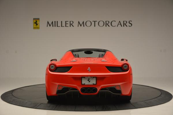 Used 2014 Ferrari 458 Spider for sale Sold at Rolls-Royce Motor Cars Greenwich in Greenwich CT 06830 6