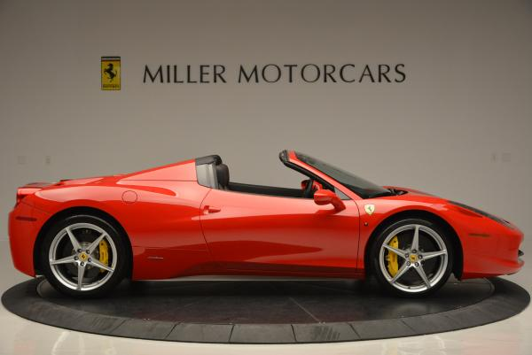 Used 2014 Ferrari 458 Spider for sale Sold at Rolls-Royce Motor Cars Greenwich in Greenwich CT 06830 9