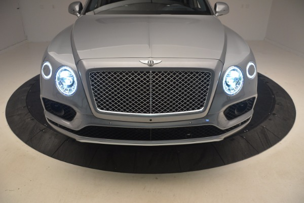 New 2018 Bentley Bentayga Onyx for sale Sold at Rolls-Royce Motor Cars Greenwich in Greenwich CT 06830 16