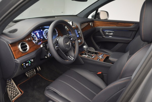 New 2018 Bentley Bentayga Onyx for sale Sold at Rolls-Royce Motor Cars Greenwich in Greenwich CT 06830 25