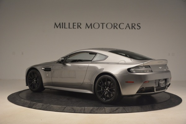 Used 2017 Aston Martin V12 Vantage S for sale Sold at Rolls-Royce Motor Cars Greenwich in Greenwich CT 06830 4