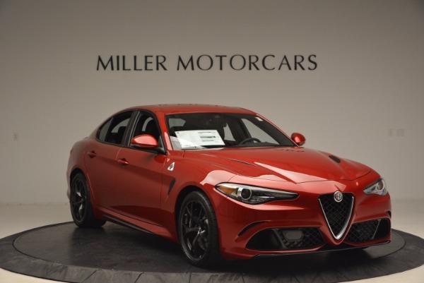 New 2017 Alfa Romeo Giulia Quadrifoglio Quadrifoglio for sale Sold at Rolls-Royce Motor Cars Greenwich in Greenwich CT 06830 11