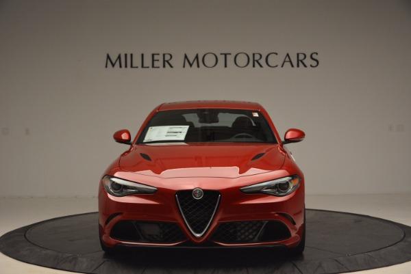 New 2017 Alfa Romeo Giulia Quadrifoglio Quadrifoglio for sale Sold at Rolls-Royce Motor Cars Greenwich in Greenwich CT 06830 12