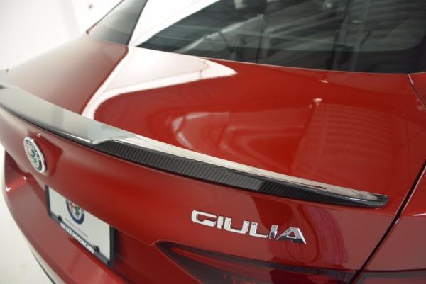 New 2017 Alfa Romeo Giulia Quadrifoglio Quadrifoglio for sale Sold at Rolls-Royce Motor Cars Greenwich in Greenwich CT 06830 27