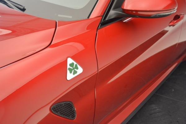 New 2017 Alfa Romeo Giulia Quadrifoglio Quadrifoglio for sale Sold at Rolls-Royce Motor Cars Greenwich in Greenwich CT 06830 28