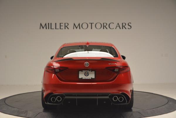 New 2017 Alfa Romeo Giulia Quadrifoglio Quadrifoglio for sale Sold at Rolls-Royce Motor Cars Greenwich in Greenwich CT 06830 6