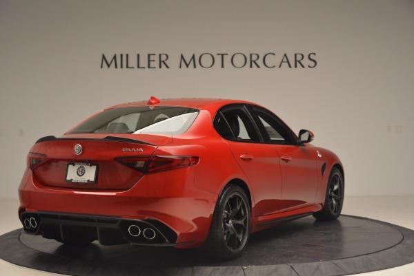New 2017 Alfa Romeo Giulia Quadrifoglio Quadrifoglio for sale Sold at Rolls-Royce Motor Cars Greenwich in Greenwich CT 06830 7