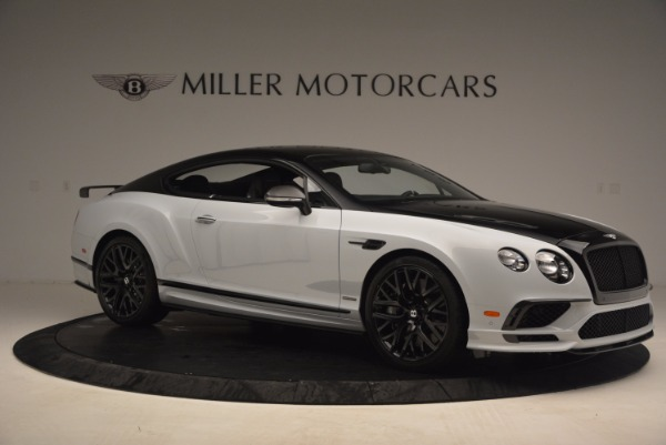 New 2017 Bentley Continental GT Supersports for sale Sold at Rolls-Royce Motor Cars Greenwich in Greenwich CT 06830 10