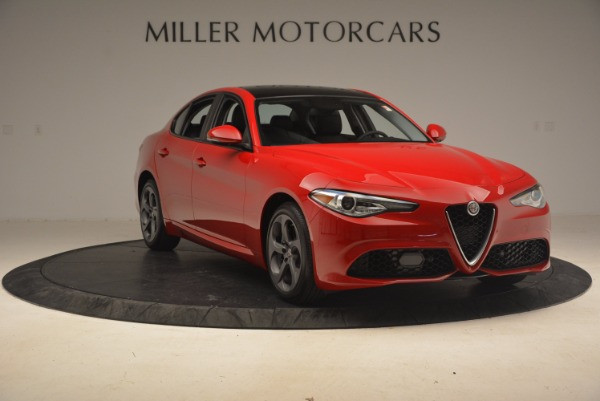 New 2017 Alfa Romeo Giulia Ti Sport Q4 for sale Sold at Rolls-Royce Motor Cars Greenwich in Greenwich CT 06830 10