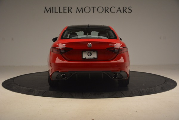 New 2017 Alfa Romeo Giulia Ti Sport Q4 for sale Sold at Rolls-Royce Motor Cars Greenwich in Greenwich CT 06830 5