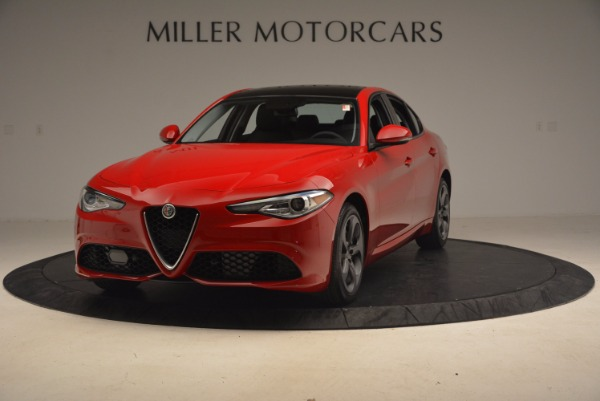 New 2017 Alfa Romeo Giulia Ti Sport Q4 for sale Sold at Rolls-Royce Motor Cars Greenwich in Greenwich CT 06830 1