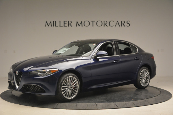 New 2017 Alfa Romeo Giulia Ti Q4 for sale Sold at Rolls-Royce Motor Cars Greenwich in Greenwich CT 06830 2