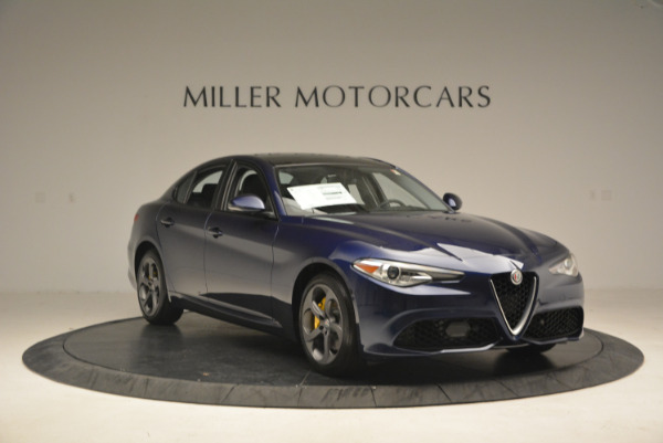 New 2017 Alfa Romeo Giulia Sport Q4 for sale Sold at Rolls-Royce Motor Cars Greenwich in Greenwich CT 06830 11
