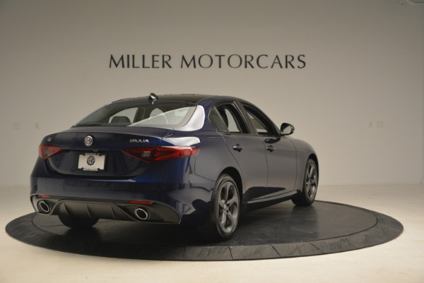 New 2017 Alfa Romeo Giulia Sport Q4 for sale Sold at Rolls-Royce Motor Cars Greenwich in Greenwich CT 06830 7