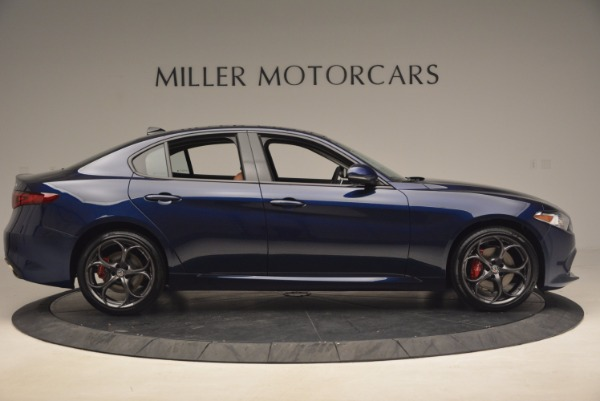 New 2017 Alfa Romeo Giulia Ti Q4 for sale Sold at Rolls-Royce Motor Cars Greenwich in Greenwich CT 06830 9