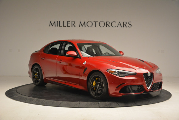 Used 2017 Alfa Romeo Giulia Quadrifoglio for sale Sold at Rolls-Royce Motor Cars Greenwich in Greenwich CT 06830 11