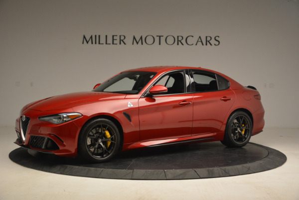 Used 2017 Alfa Romeo Giulia Quadrifoglio for sale Sold at Rolls-Royce Motor Cars Greenwich in Greenwich CT 06830 2