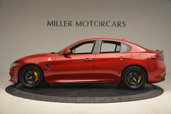 Used 2017 Alfa Romeo Giulia Quadrifoglio for sale Sold at Rolls-Royce Motor Cars Greenwich in Greenwich CT 06830 3