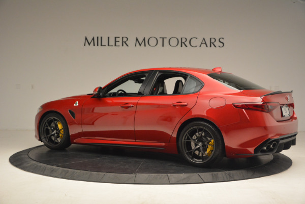 Used 2017 Alfa Romeo Giulia Quadrifoglio for sale Sold at Rolls-Royce Motor Cars Greenwich in Greenwich CT 06830 4